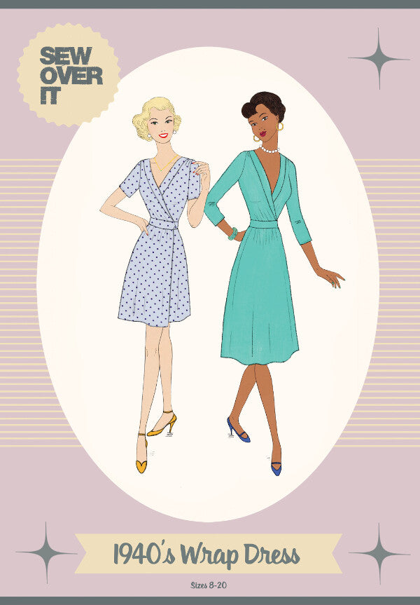 Sew Over It -  1940s Wrap Dress