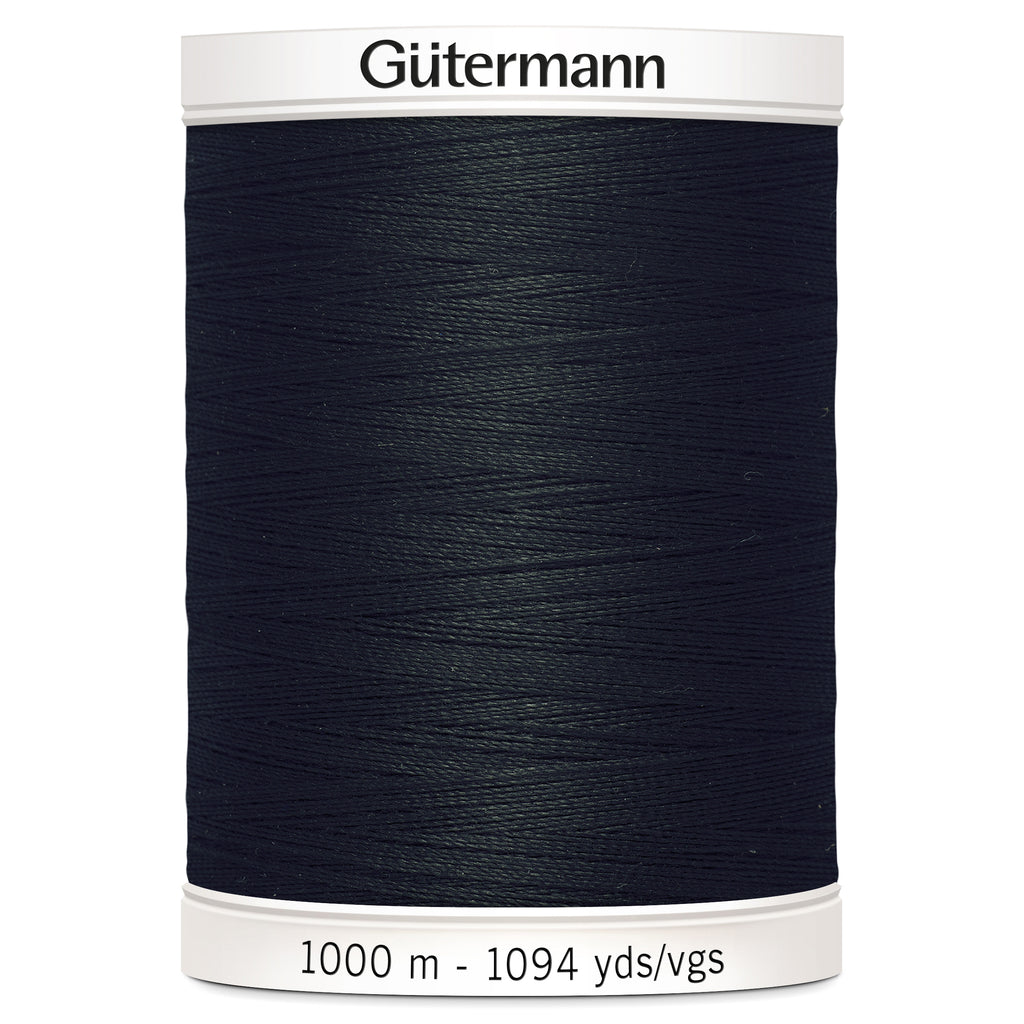 1000m Sew-all Thread - Black