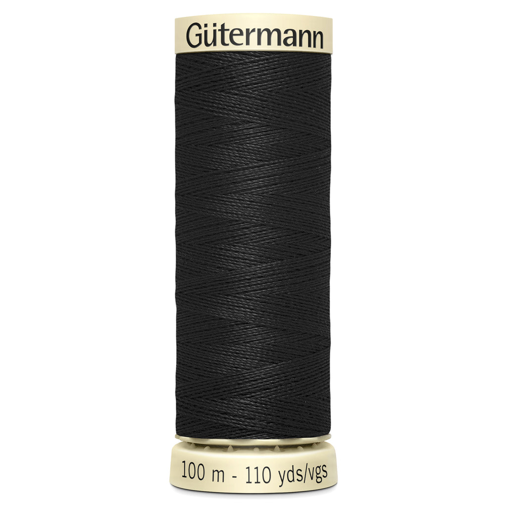 100m Sew-all Thread - 000 BLACK
