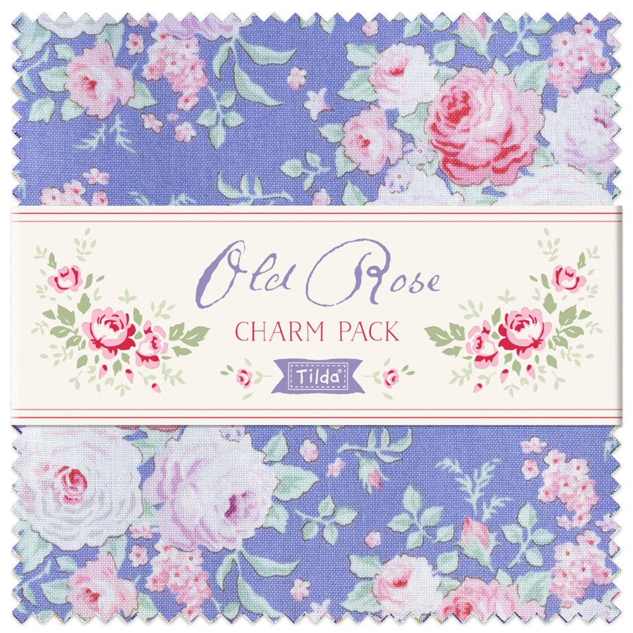 Tilda Old Rose - Charm Pack (40)
