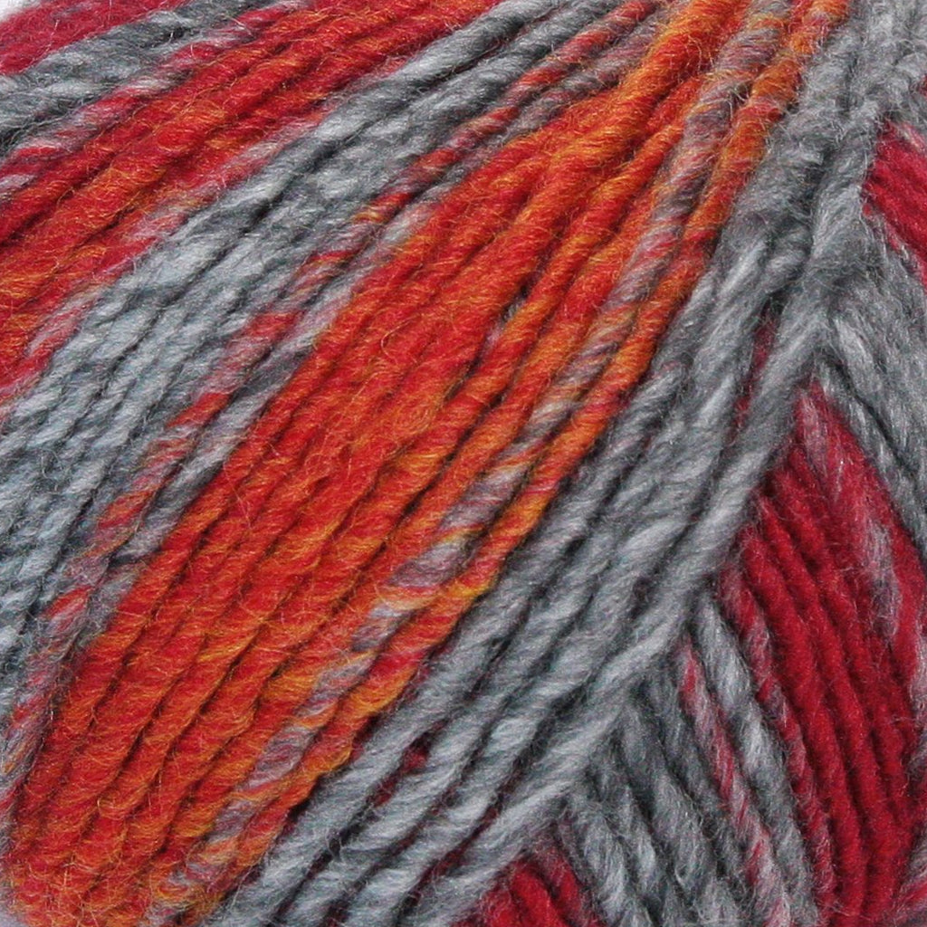 Zebrino - Aran - Multi Red Fancy (68)