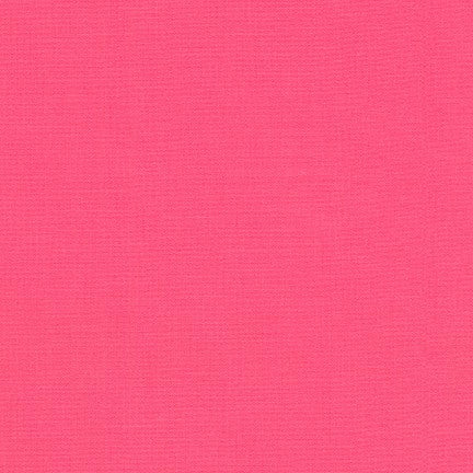 Robert Kaufman - KONA Cotton Solid - 419 Azalea