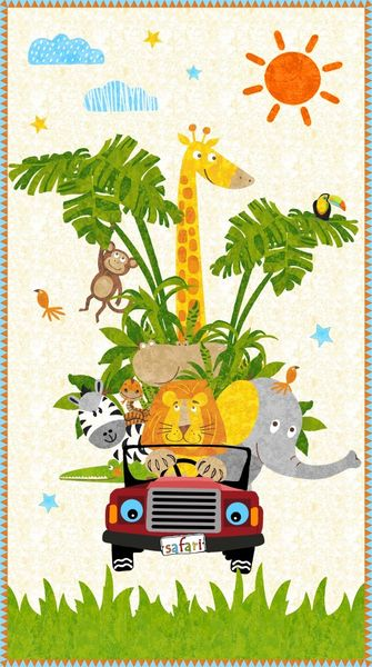 Safari Expedition - Panel