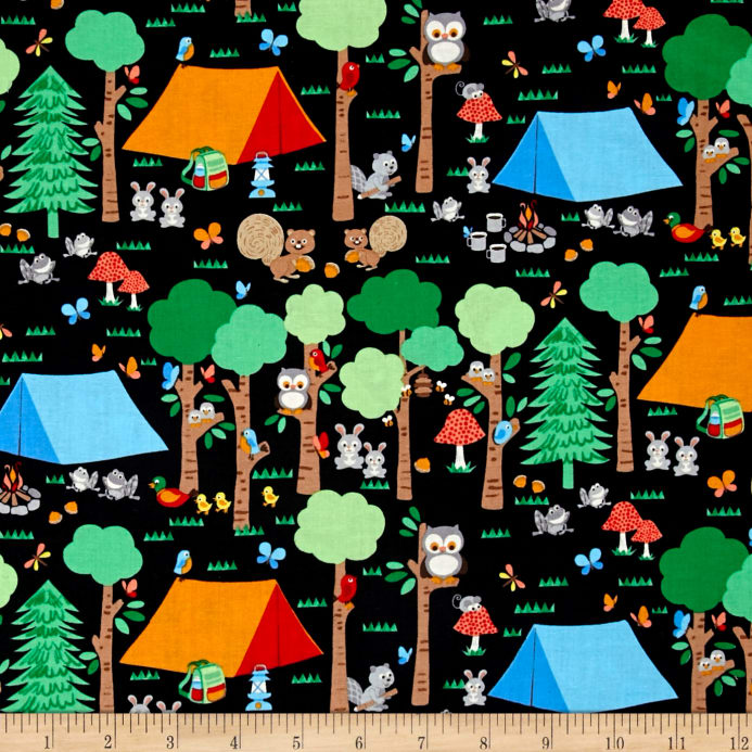 Camping Club - Forest Scene