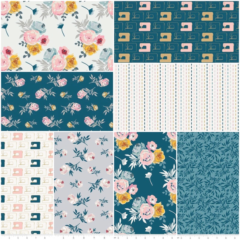 *NEW* Blooms & Bobbins - Fat Quarter Pack (8)