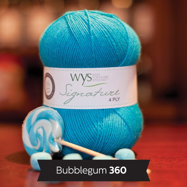 Signature 4ply - Bubblegum