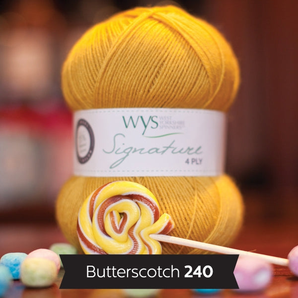 Signature 4ply - Butterscotch