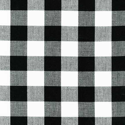 *NEW* Carolina Gingham - 1'' Black