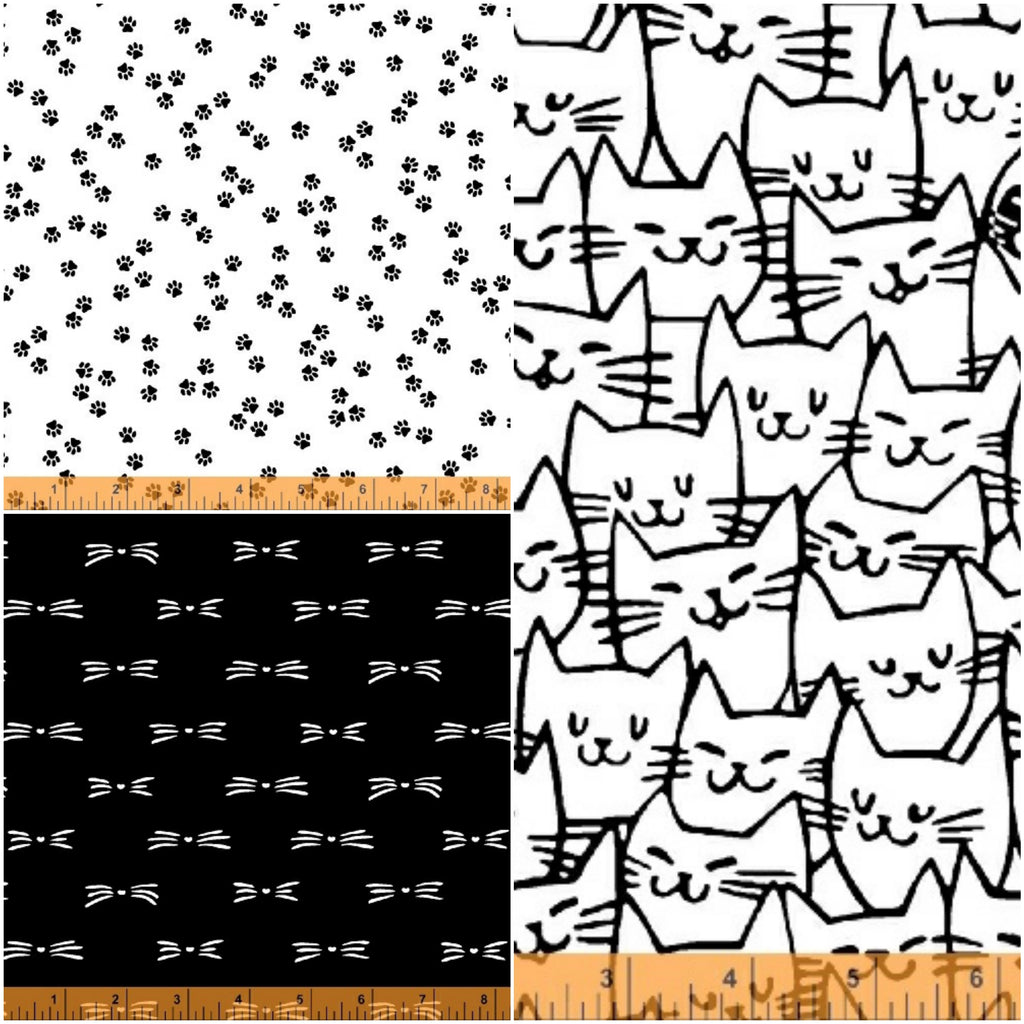 Cat Happy - Fat Quarter Pack (3)
