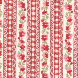Floral Line - Red