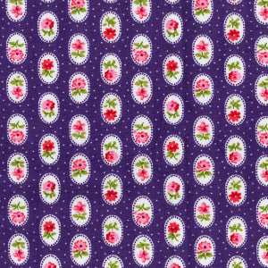 Floral Pocket - Purple