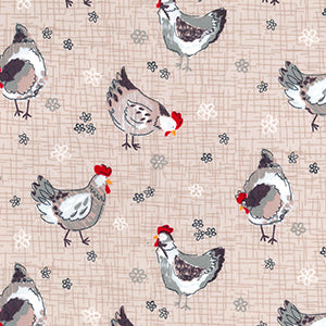 *NEW* Chickens - Tan