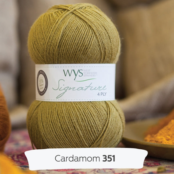 Signature 4ply - Cardamon