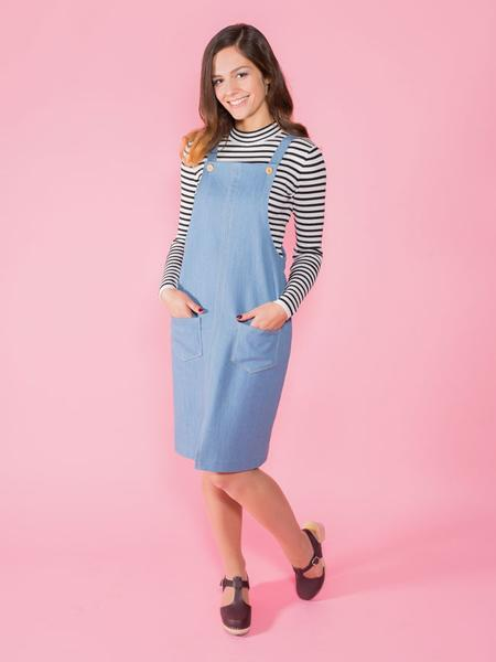 Tilly and the Buttons - Cleo pinafore & dungaree dress