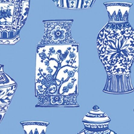 Blue Porcelain - Pottery - Blue