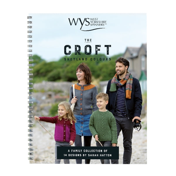 The Croft Shetland Colours Pattern Book - By Sarah Hatton