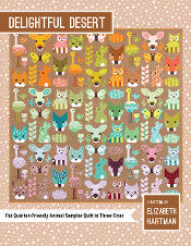 *NEW* Elizabeth Hartman - Delightful Desert - Animal Quilt Sampler Pattern