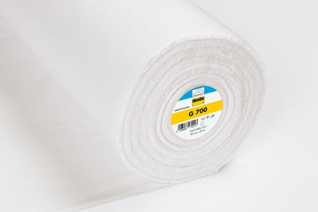 Vlieseline Woven Fusible Interfacing - G700 - Medium - White