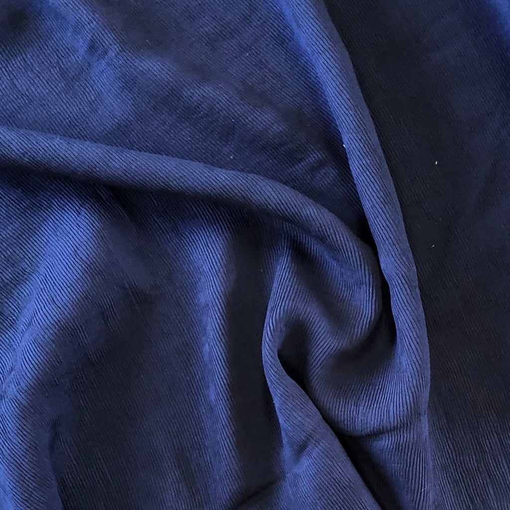 *NEW* Crinkle Viscose - Navy
