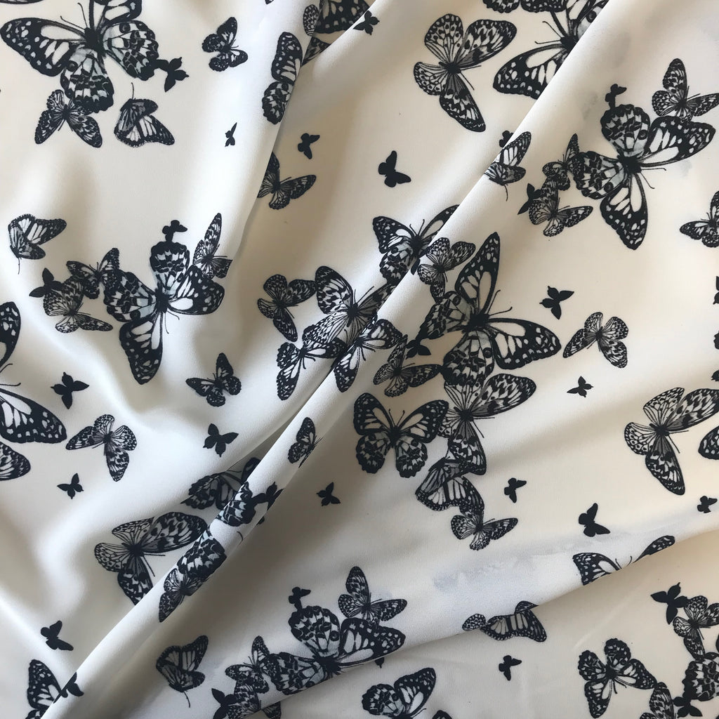 Butterfly Crepe - Ivory