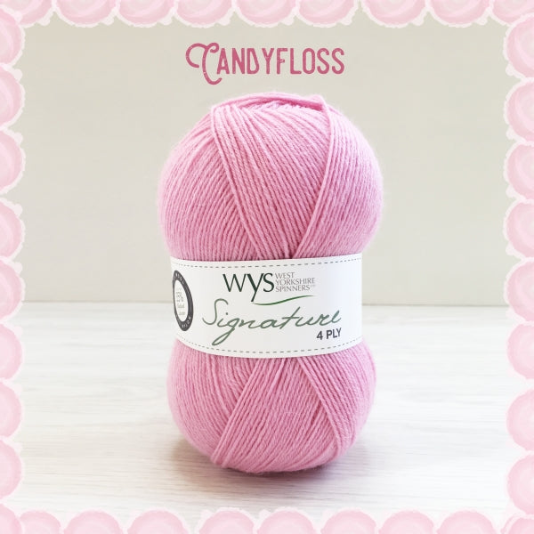 Signature 4ply - Candyfloss