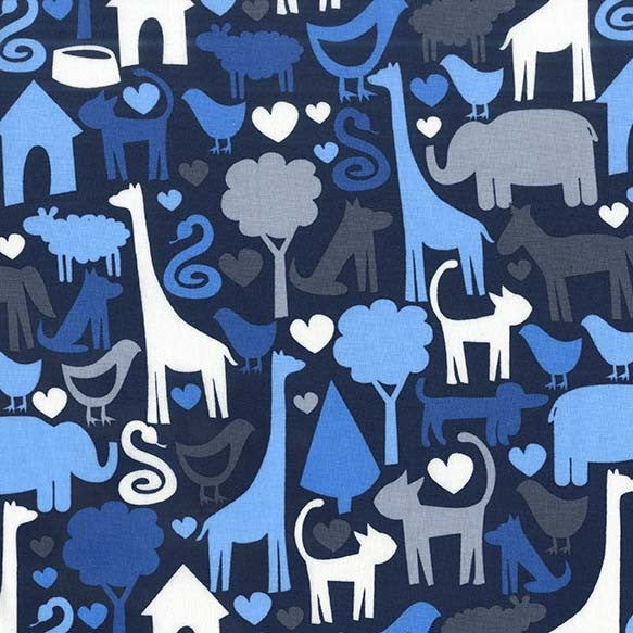 *NEW* Safari Friends - Animal World - Navy