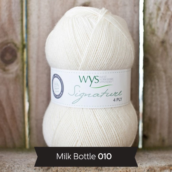 Signature 4ply - Milk Bottle