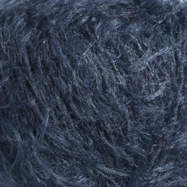 Bergere - Plume - Chunky - Bleu Fonce - textured soft fluffy yarn wool