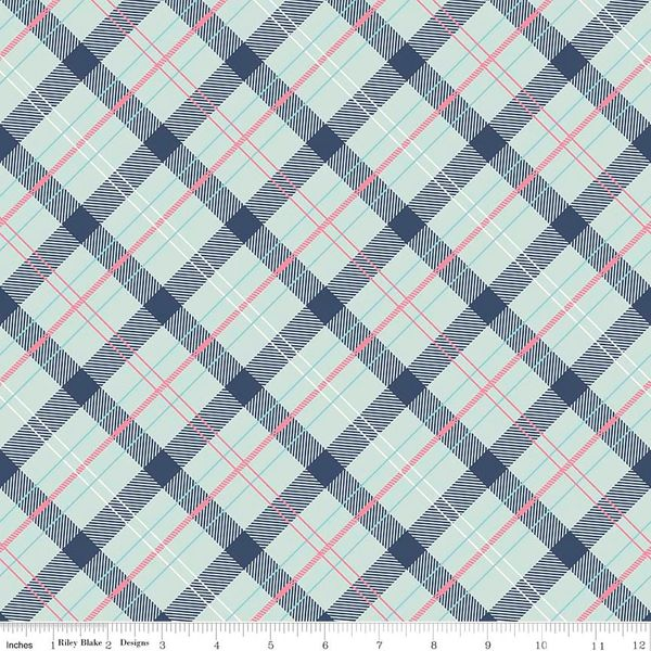 Enchanted - Plaid - Navy