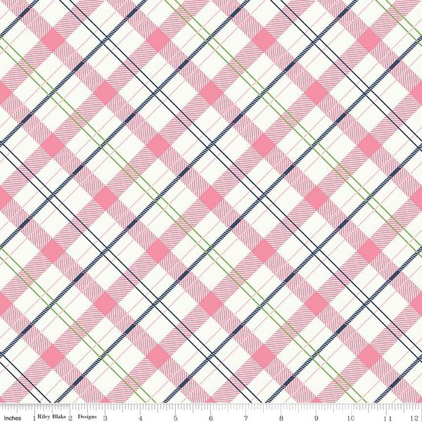 Enchanted - Plaid - Pink