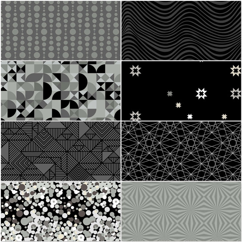 *NEW* Libs Elliot - Stealth Fat Quarter Pack - Coal (8)