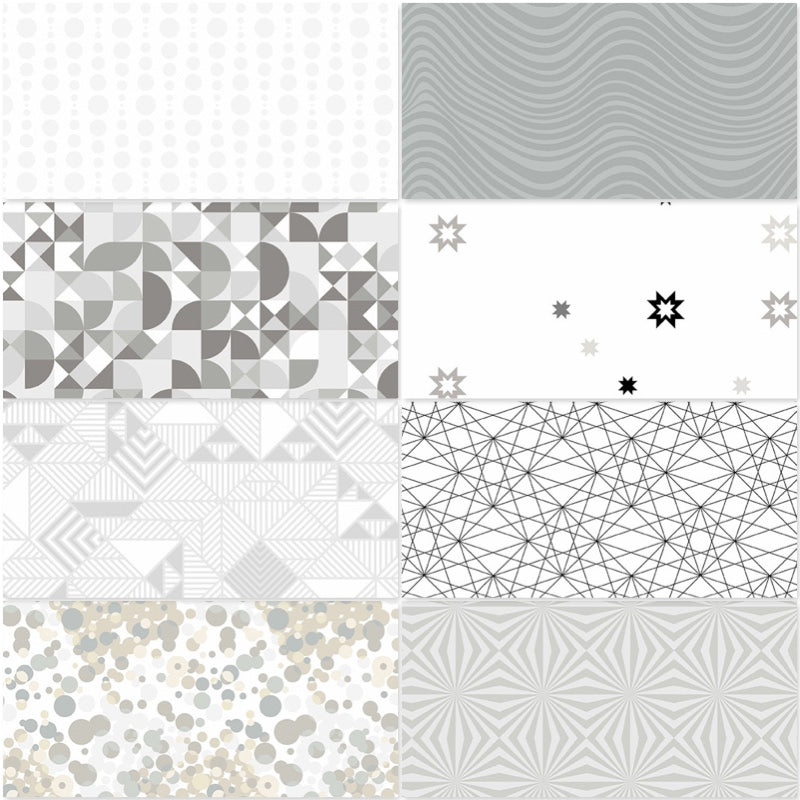 *NEW* Libs Elliot - Stealth Fat Quarter Pack - Fog (8)