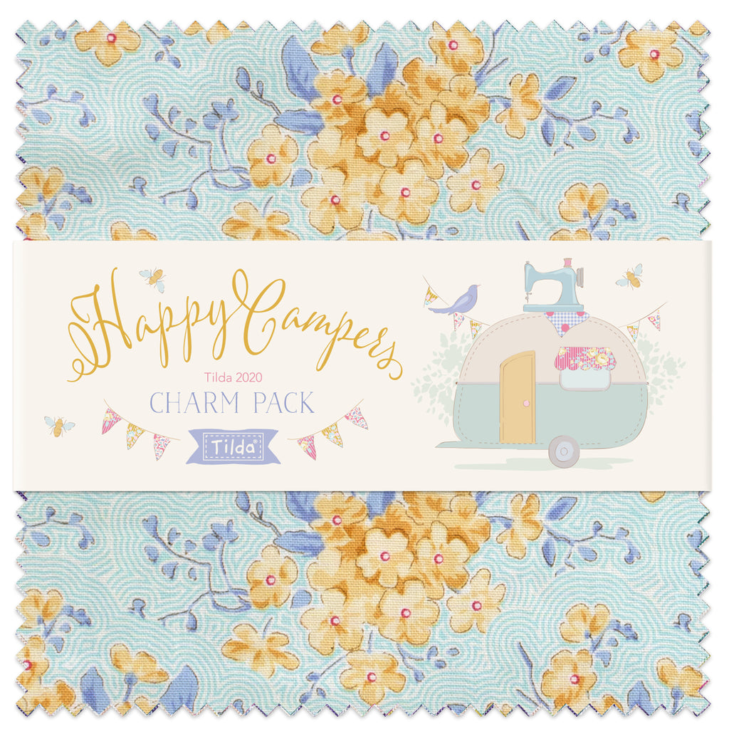Tilda Happy Campers Charm Pack (40)