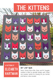 Elizabeth Hartman - The Kittens - Quilt Pattern