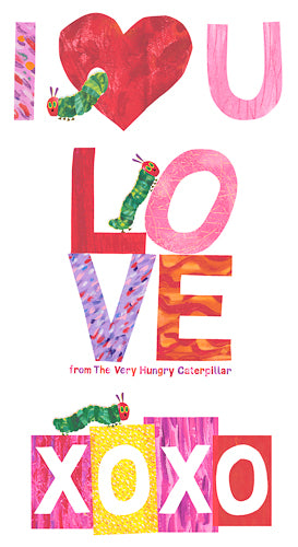The Very Hungry Caterpillar - I Love You - Panel