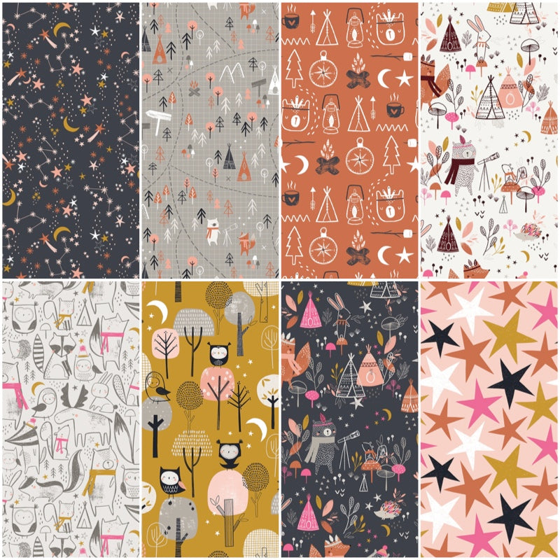 *NEW* Under The Stars - Fat Quarter Pack (8)