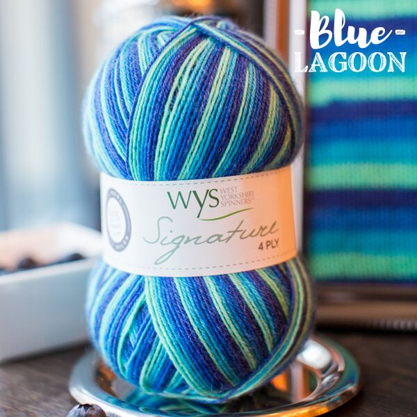 Signature 4ply - Blue Lagoon