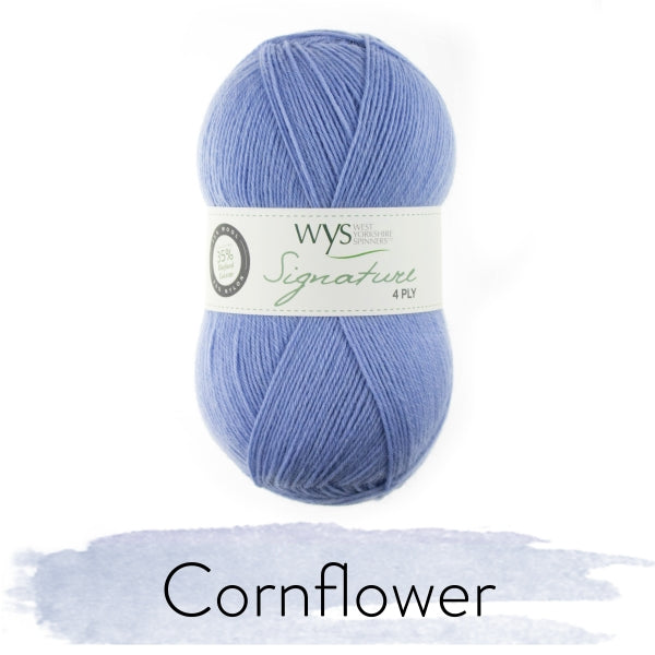 Signature 4ply - Cornflower