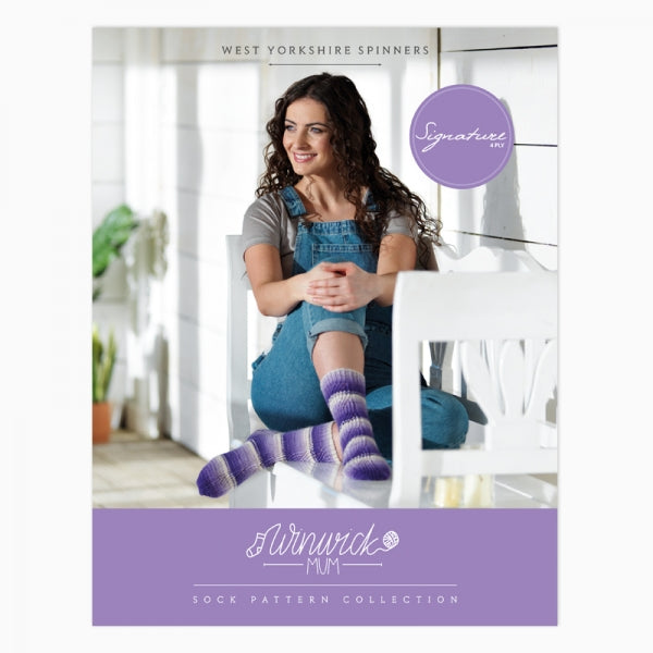 *NEW* The Winwick Mum Pattern Collection Sock Pattern Book