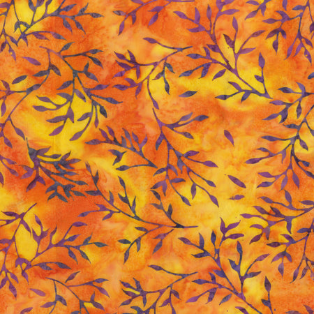 Anthology Batik - Beat Leaves - Ember 340Q-1