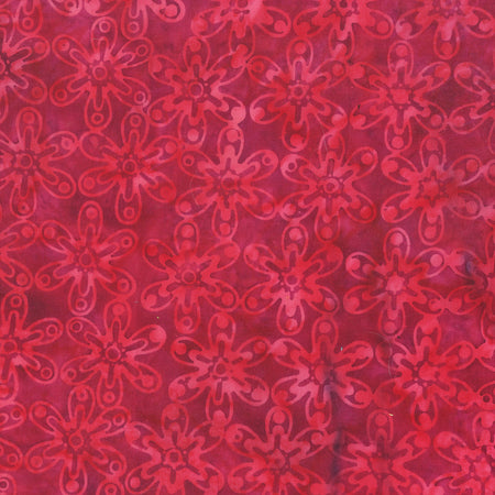 Anthology Batik - Beat Flower - Magenta 342Q-2