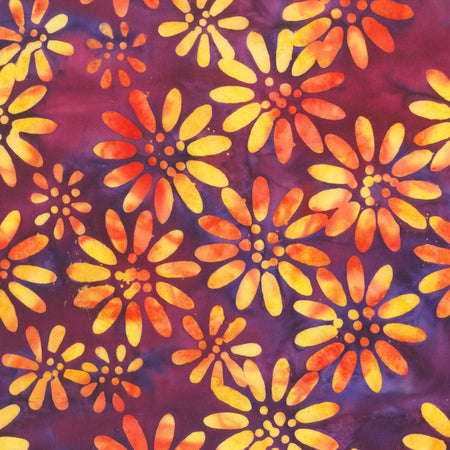 Anthology Batik - Beat Summer - Red Violet 341Q-1