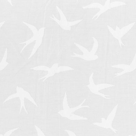 Anthology Batik - Whisper Swallows - White 975Q-1
