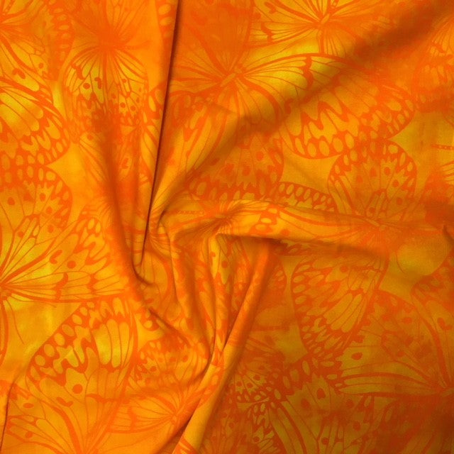 Butterfly Batik - Yellow