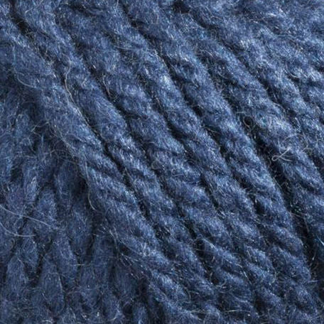 Bergere - Recyclaine - Super Chunky - Bleu Fonce - Yarn Wool Recycled