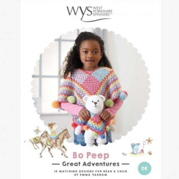 *NEW* Bo Peep Great Adventures Crochet Pattern Book