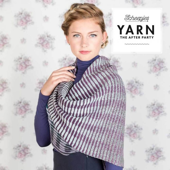 *NEW* Scheepjes - Yarn The After Party - Crochet Between The Lines Shawl - Crochet Whirl