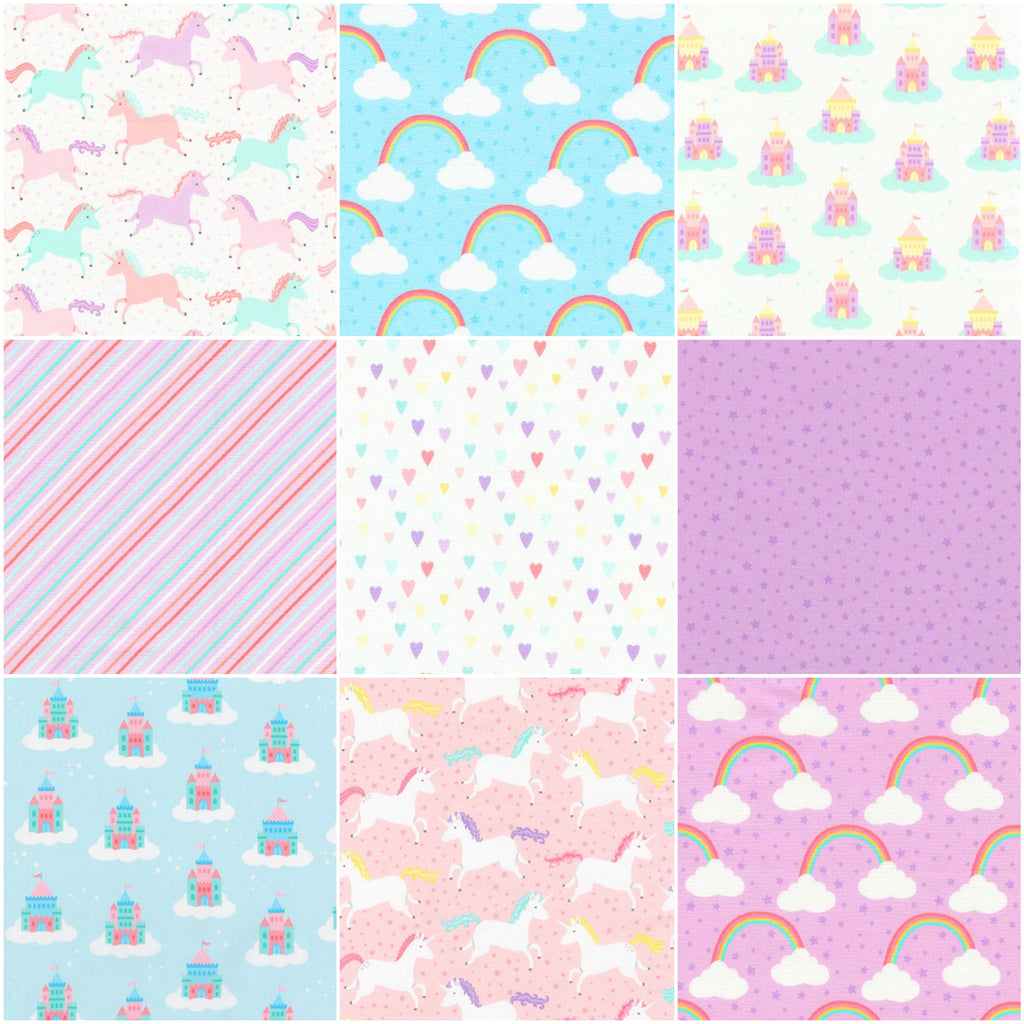 *NEW* Chasing Rainbows - Fat Quarter Pack (15)