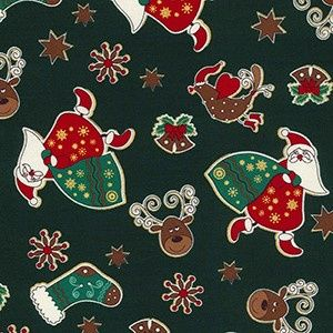 Christmas - Santa's Sack - Green
