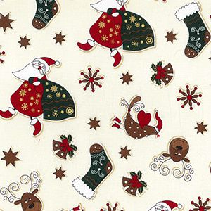 *NEW* Christmas - Santa's Sack - Cream